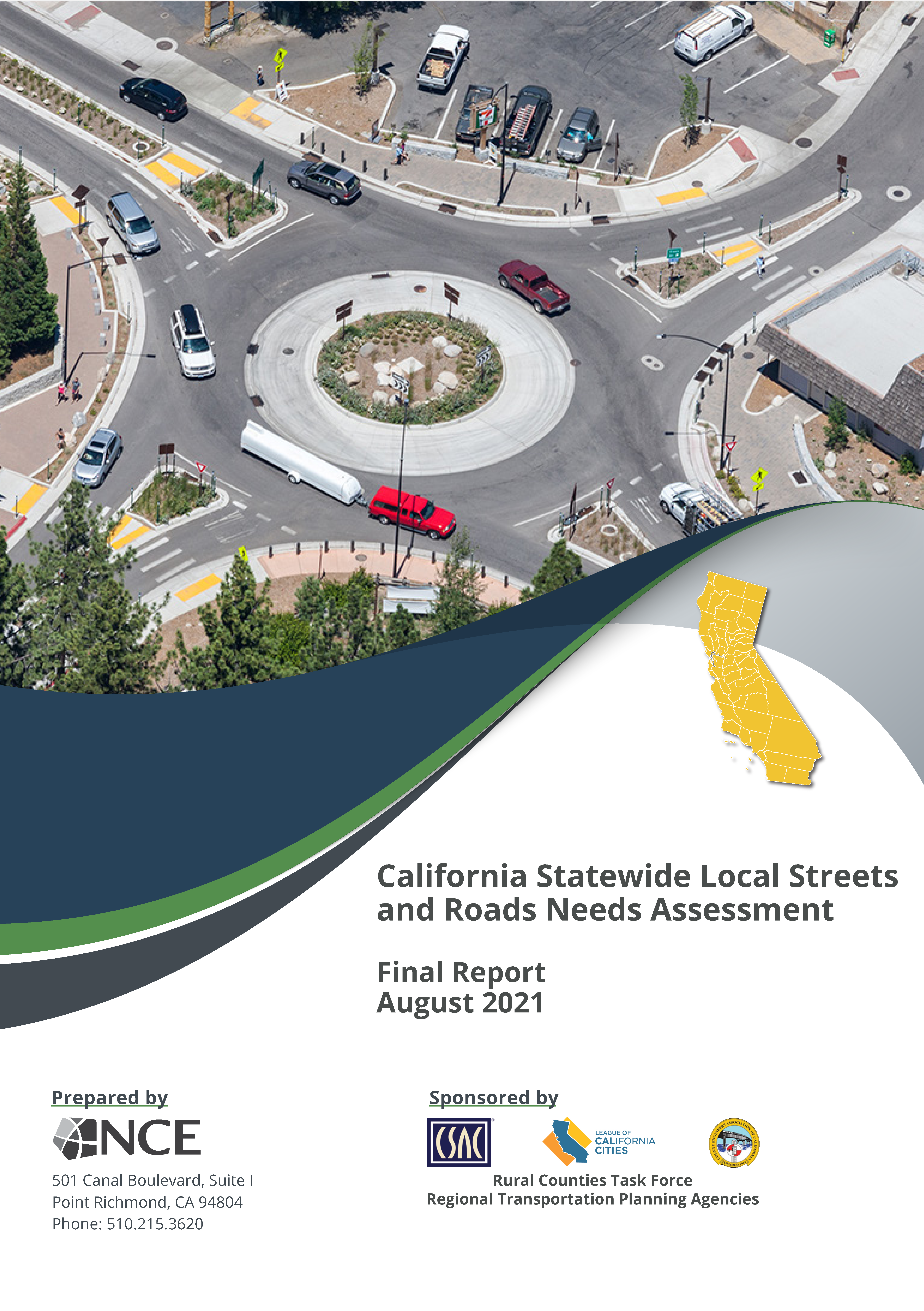 Image of 2020 Statewide Local Streets and Roads Needs Assessment Report Cover